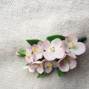 вишня, цветы, глина, барнаул, ручная, работа, купить