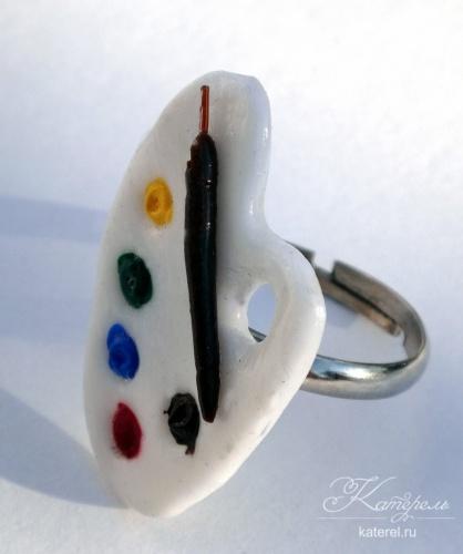 """кольцо """"палитра"""""""
