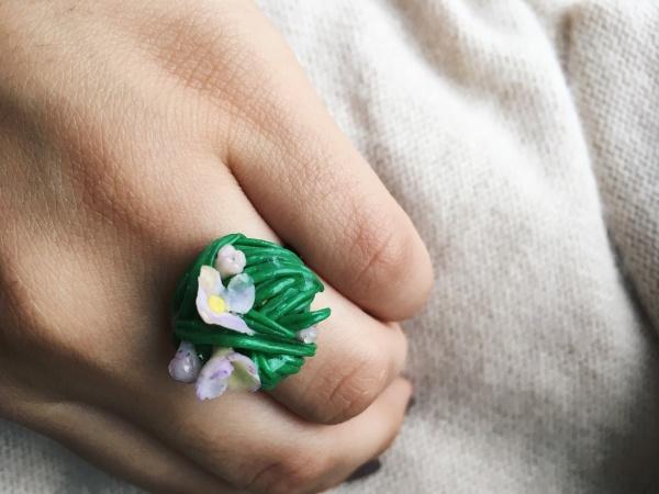 купить, полимерная глина, ручная работа, цветы